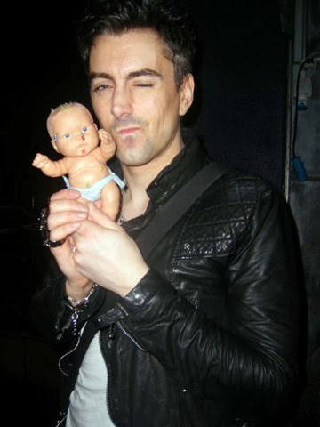 Former frontman of rock band Lostprophets Ian Watkins seen pictured back in 2010 holding a baby doll outside the stage door of The Academy music venue,Dublin<br /><br />Featuring: Ian Watkins<br />Where: Dublin, Ireland<br />When: 18 May 2010<br />Credit: WENN.com<br /><br />**Not available for publication in Irish Tabloids or Irish magazines**