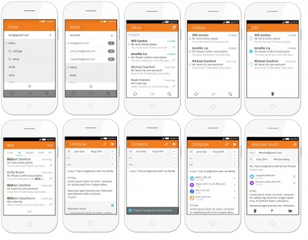 Firefox OS 2.0 - Email