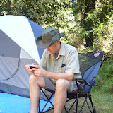 A true camper needs no cell phone signal ...