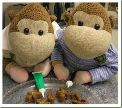 Icing Gingerbread men