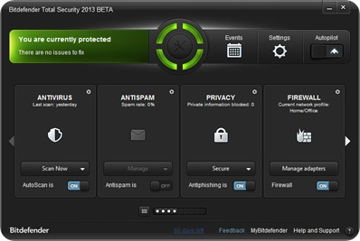 Download Bitdefender Total Security 2013 Full License Key