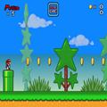 Play as Mario, Luigi, or Toad in this great looking Mario game. Grab coins and stomp some goombas.