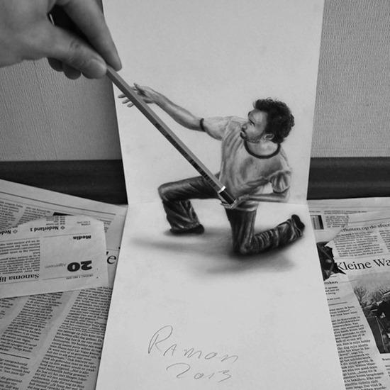 Desenhos 3D lápis (1)