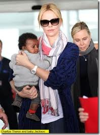 charlize theron adopted son transracial adoption celebrities