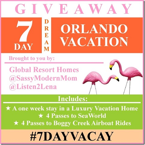 How To Survive Life in The Suburbs: Win A 7 Day Dream Vacation With Global Resort Homes!