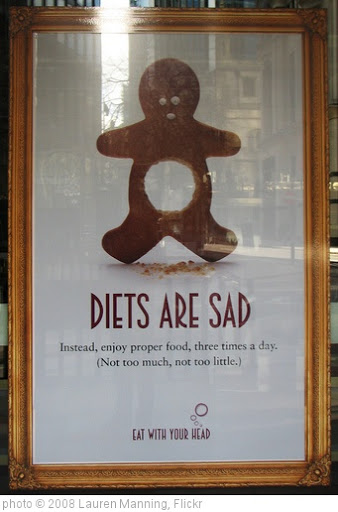 'diets are sad' photo (c) 2008, Lauren Manning - license: http://creativecommons.org/licenses/by/2.0/