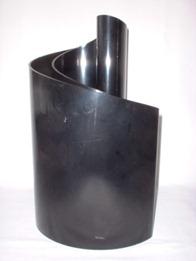 Black Deda vase