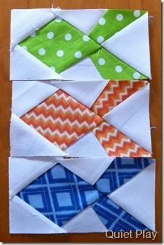 Paper pieced Fish for Merran