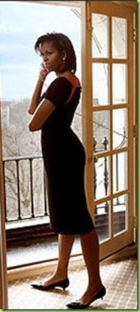 michelle-obama-vogue-photo-black-dress