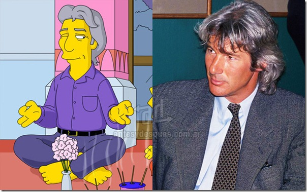 Richard-Gere_simpsons_www_antesydespues_com_ar