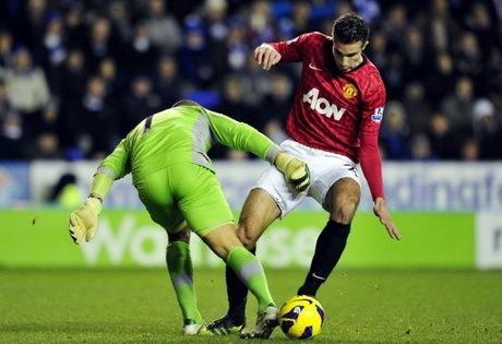 Hasil Pertandingan Reading vs Manchester United Liga Inggris Sabtu 1 Desember 2012