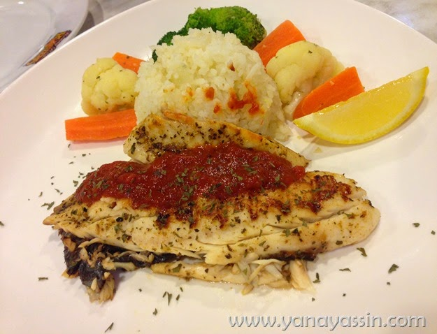 Kenny Rogers Fish Fillet