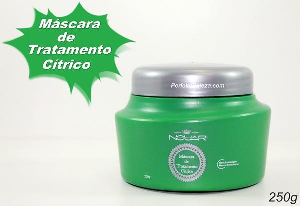 máscara de tratamento cítrico-Nouar