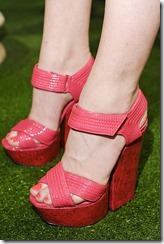 Alice-Olivia Spring 2012 Cork Platforms ShoesNBooze