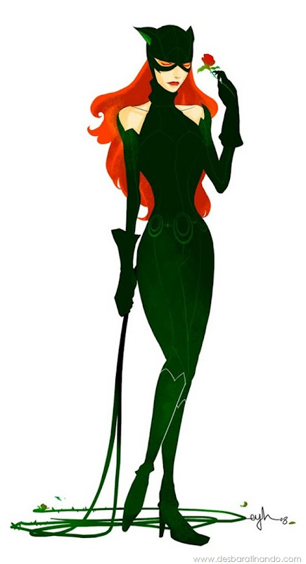 Eric-Y.-Huang-aka-Gingashi-Poison-Ivy-Catwoman-desbaratinando