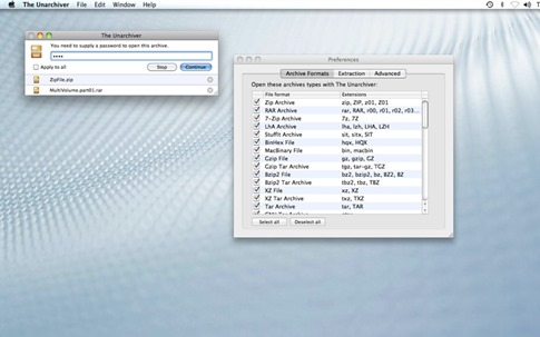 The Unarchiver para OS X