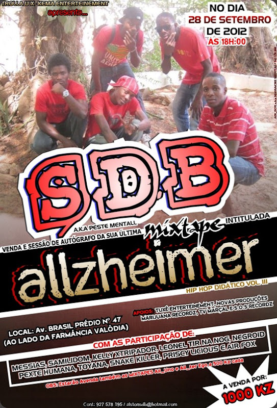 Panfleto do SDB
