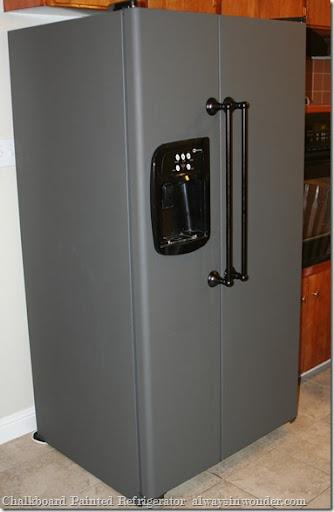Chalk Board Painted Refrigerator (24)