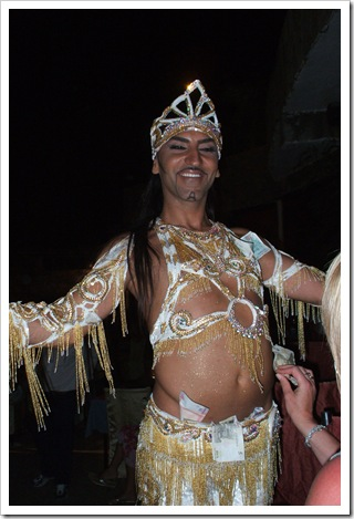 Alex the Male Bellydancer, Bodrum, Turkey