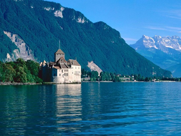 بحيرة جنيف | معلومات و صور , السياحة فى سويسرا 2015