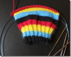 Angry Birds - Sock 1 - Cuff