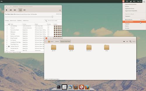 Radiance Dark Panel su Ubuntu 12.04