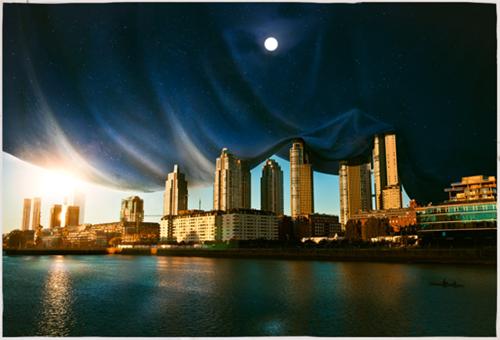 nightfall digital art