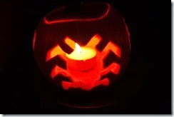Blue Beetle Pumpkin