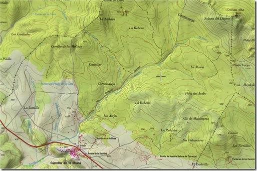 Mapa Castellar Muela