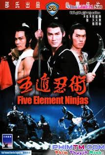 Ngũ Độn Nhẫn Thuật - Five Element Ninjas Tập HD 1080p Full