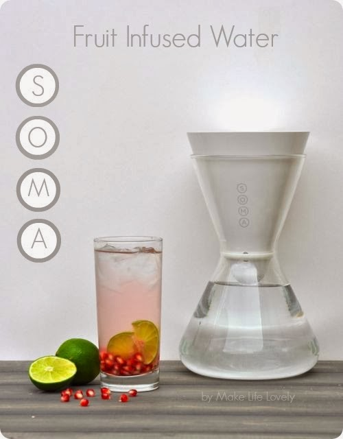 Fruit Infused Water Recipes using Soma, by Make Life Lovely