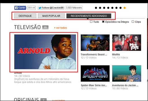 Filmes e Seriados de TV grátis - streaming de vídeo  via internet - Visual Dicas