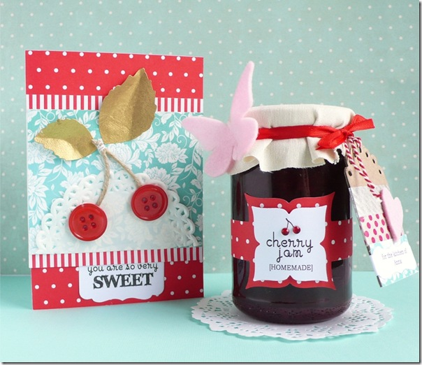 cafe creativo - Anna Drai - big shot sizzix - card - packaging - cherry jam (1)