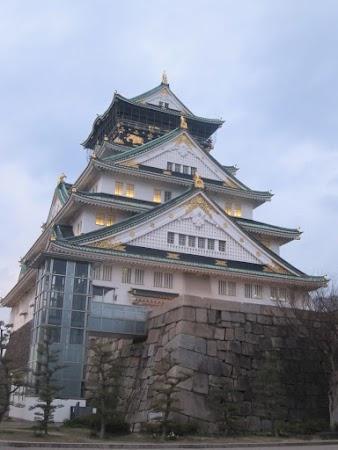 Obiective turistice Japonia: castelul Osaka.jpg