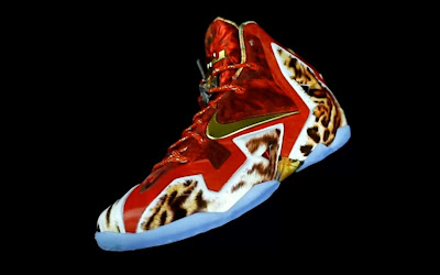 nike lebron 11 gr 2k14 3 03 Video: Nike LeBron 11 NBA 2K14 Limited Edition