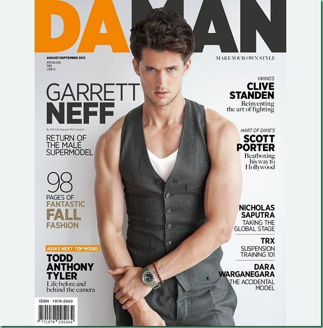 Garrett Neff for Da Man August/Sept. 2013