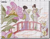 geishas puente y cerezos (1)