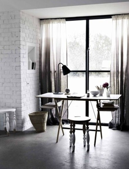 Svart och vit interiör, Emma Thomas 5