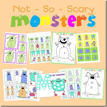 monsters tot pack