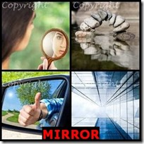 MIRROR- 4 Pics 1 Word Answers 3 Letters