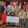 Yorktown Athletic Club Check Presentation