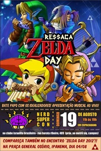 RJ - Nerd Super Con   Ressaca Zelda Day