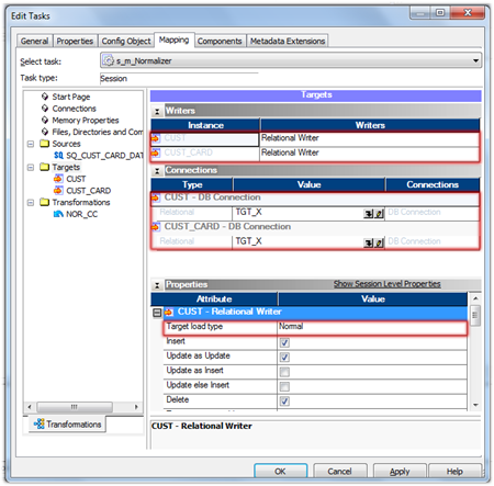 Informatica PowerCenter Session Properties