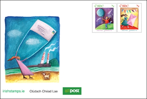 Rainbow stamp club new greeting stamps from ireland an post issued two new greetings stamps which are specially designed for use on greeting cardse origin of sending greeting cards can be traced back to m4hsunfo