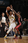 lebron james nba 130108 mia at ind 01 King James Debuts LBJ X Portland PE But Ends Scoring Streak