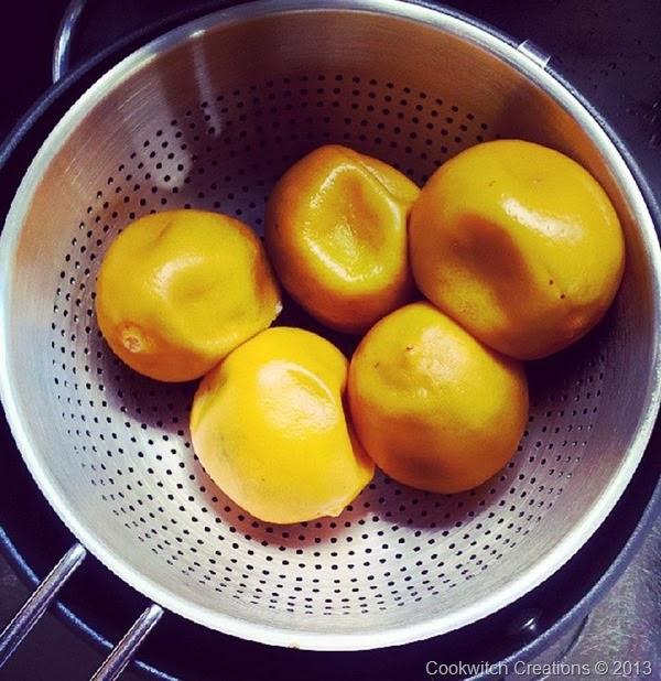Simmered Lemons