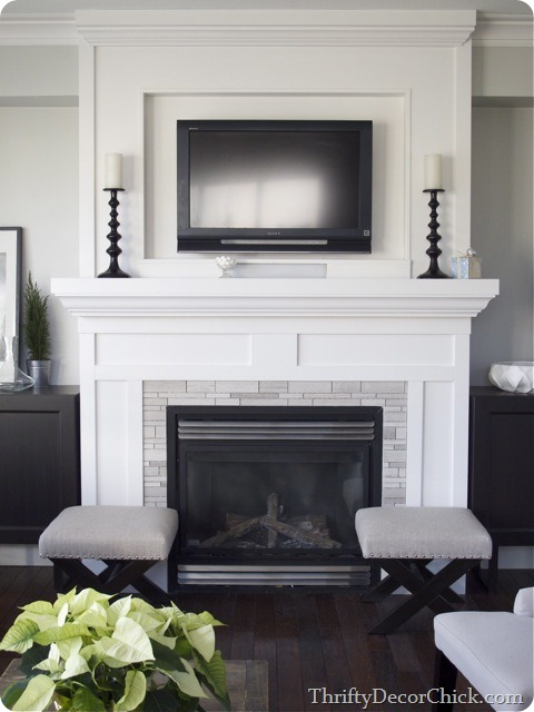 fireplace with tv