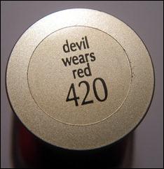 L'Oreal Devil Wears Red