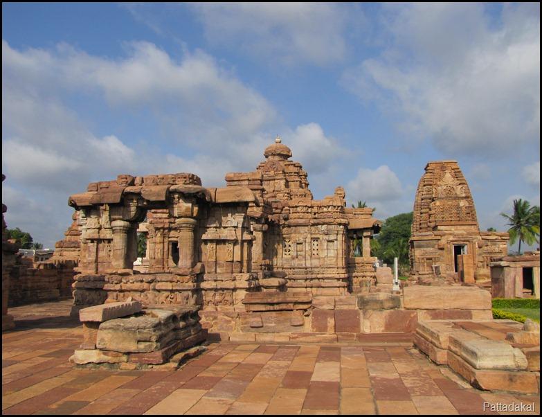 Mallikarjuna and Kasivishveshwara temple, Pattadakal