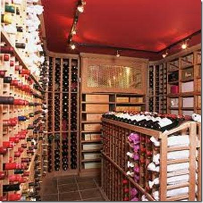 wine cellar ceiling